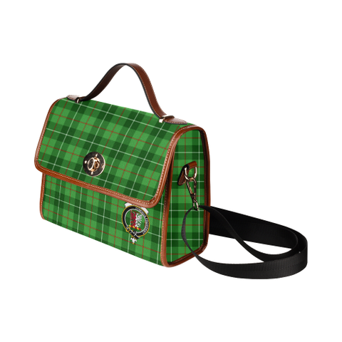 Tartan Canvas Bag - Boyle Clan | Waterproof Bag | Scottish Bag