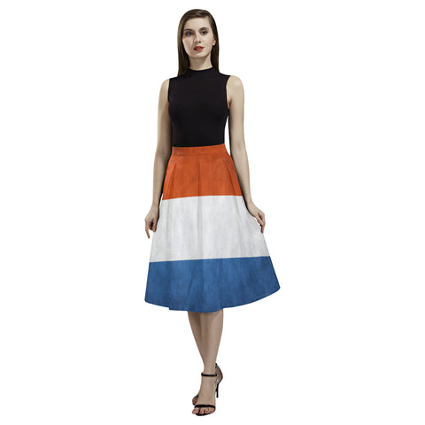 NETHERLANDS FLAG AOEDE CREPE SKIRT A1