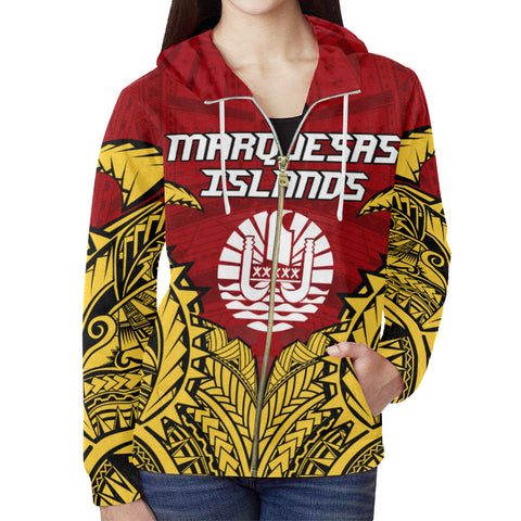 Marquesas Islands Premium Zipper Hoodie A7