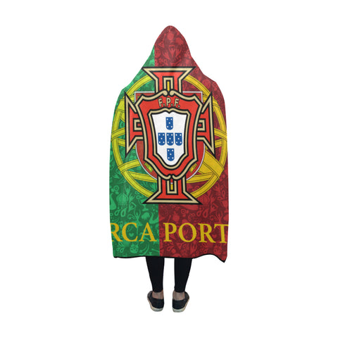 Portugal World Cup Hooded Blanket 02 - BN04