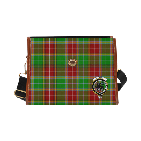 Image of Tartan Canvas Bag - Baxter Clan | Waterproof Bag | Scottish Bag