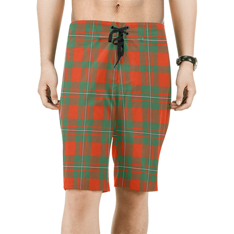 MacGregor Ancient Tartan Board Shorts | 1sttheworld.com