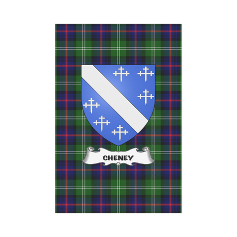 Cheney Tartan Flag Clan Badge K3 |Home Decor| 1sttheworld