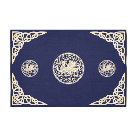 Image of Welsh Dragon Tablecloth - BN