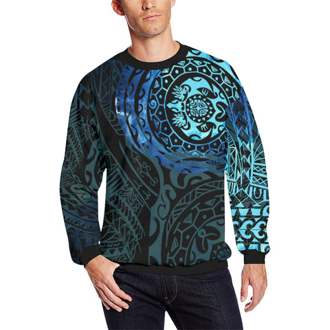 Image of Polynesian Tattoo Style Sweatshirt Special  A7