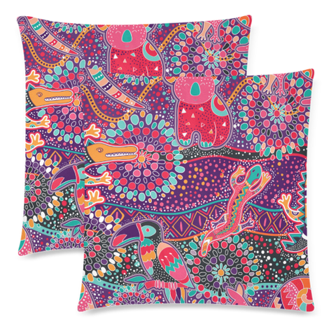 Aboriginal Bohemian Pillow Covers Nn6