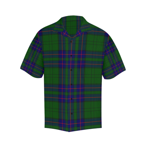 Tartan Shirt - Lockhart Modern Relaxed Fit Shirt | Tees For Men | Over 500 Tartans
