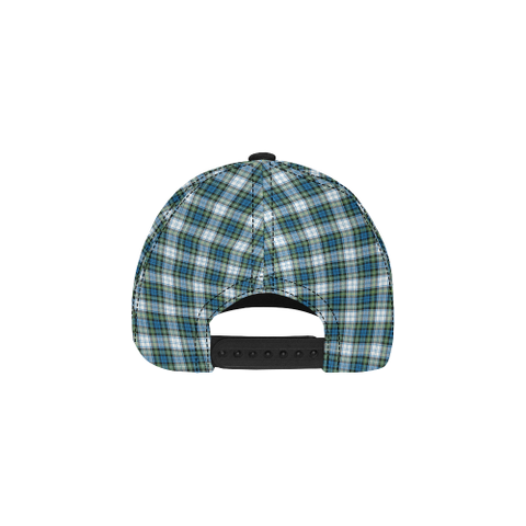 Campbell Dress Ancient Clan Badge Tartan Dad Cap - BN03