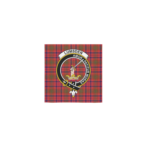 Lumsden Modern Tartan Towel Clan Badge | 1sttheworld.com