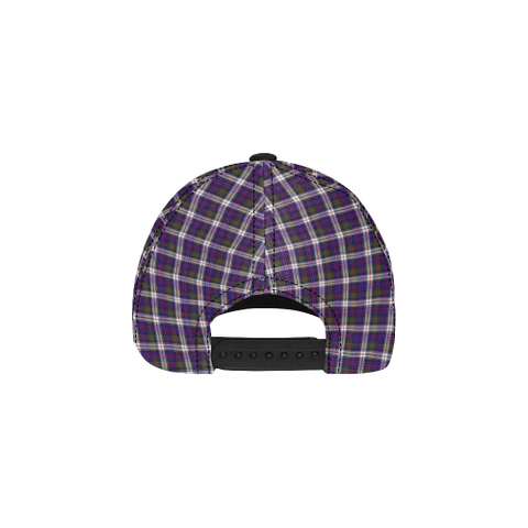 Heron (MacDonald Dress Modern) Clan Badge Tartan Dad Cap - BN03