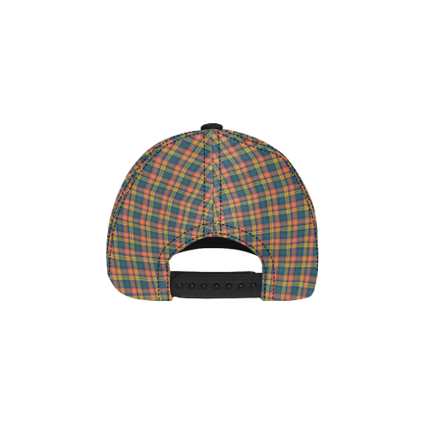 Image of Buchanan Ancient Clan Badge Tartan Dad Cap - BN03