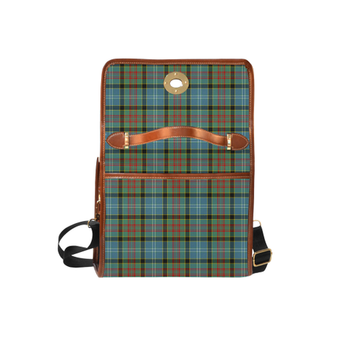Image of Tartan Canvas Bag - Brisbane Clan | Waterproof Bag | Scottish Bag