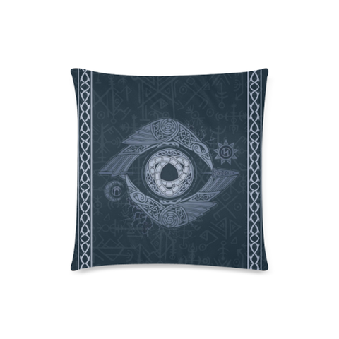 Viking Cover- Odin's Eye Pillow Cover Nn8
