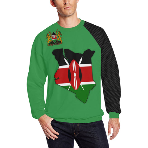 Kenya Map Special Sweatshirt A5