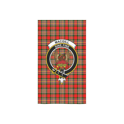 MacGill Modern Tartan Towel Clan Badge NN5