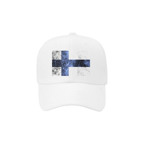 Image of FINLAND   FLAG DAD CAP A1