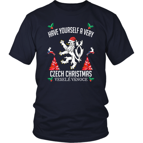 Czech Republic Christmas T-Shirt/Hoodie A7