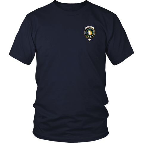 Oliphant Tartan T-Shirt - Scottish Proverb K7