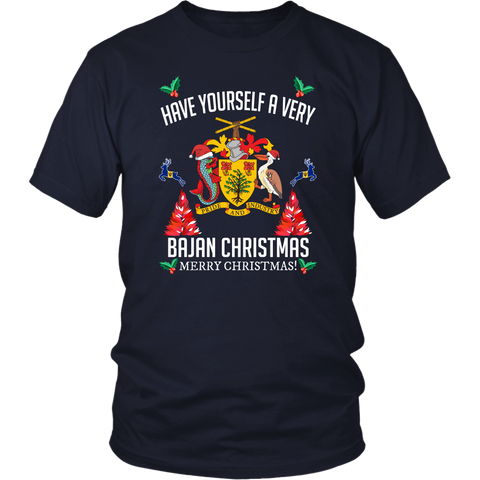 Image of Barbados Christmas T-Shirt/Hoodie A7
