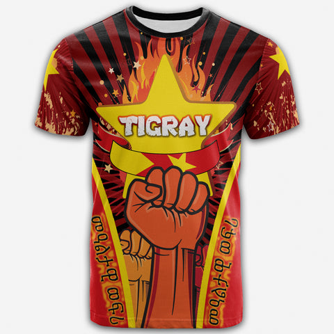 1sttheworld T-shirt - I stand with Tigray - Independent Tigray - BN21