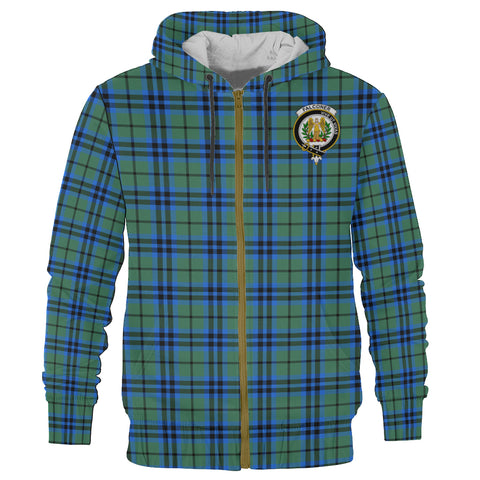 Falconer Clan Tartan Zip Hoodie | Men & Women | Clothing