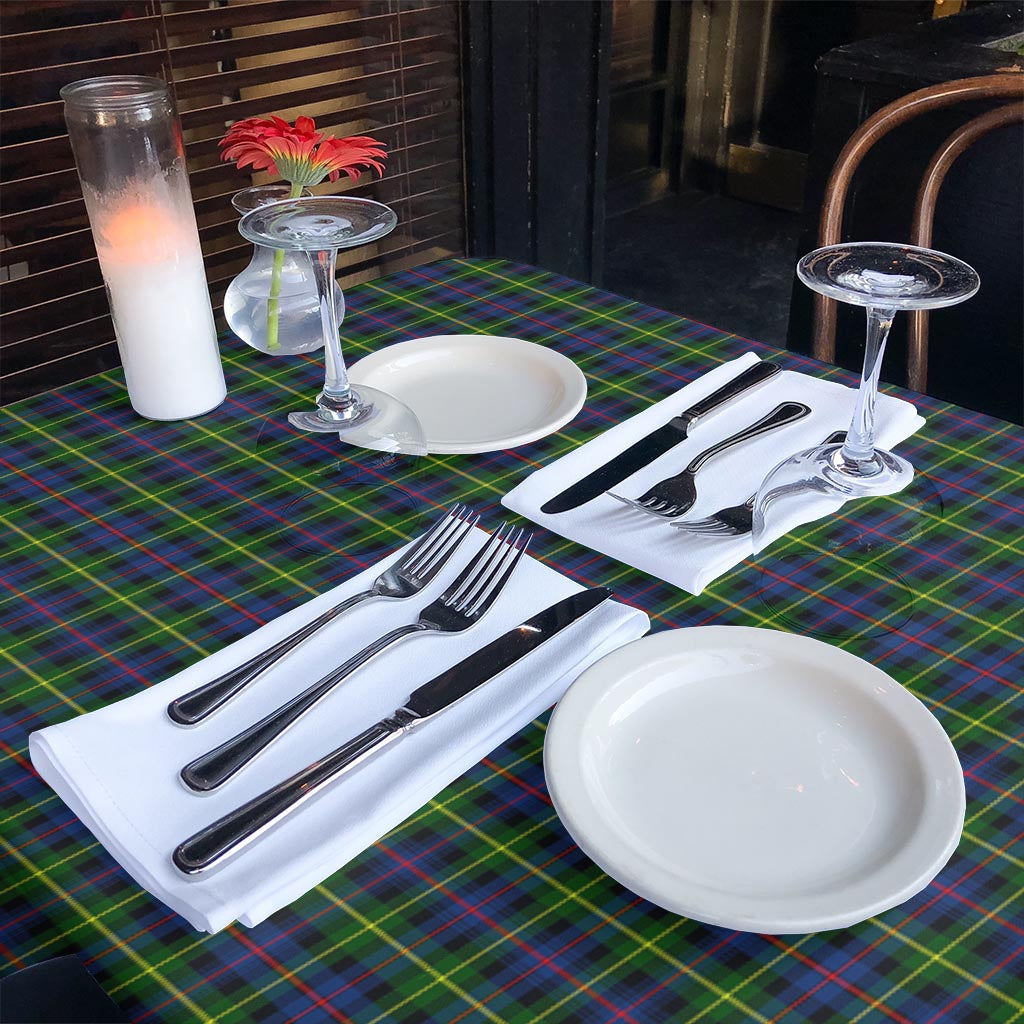 Farquharson Modern Tartan Tablecloth Home Decor