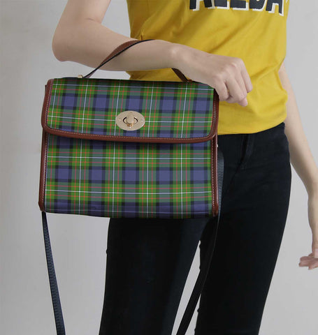 Fergusson Modern Tartan Canvas Bag | Waterproof Bag | Scottish Bag
