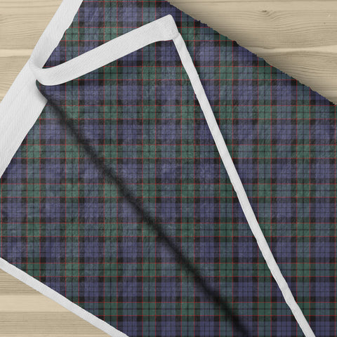 Fletcher Modern Tartan Towel Clan Badge NN5