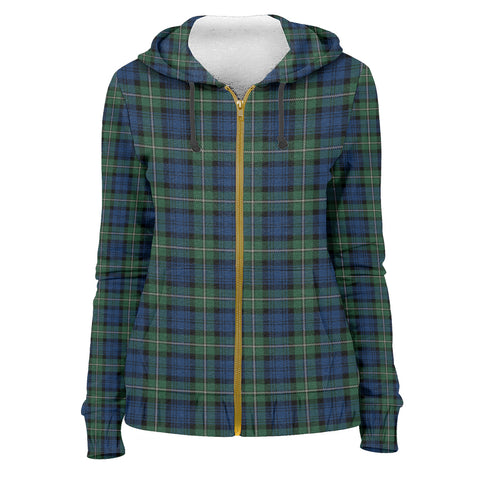 Tartan Zip Hoodie -Forbes Ancient | Men & Women | Clothing