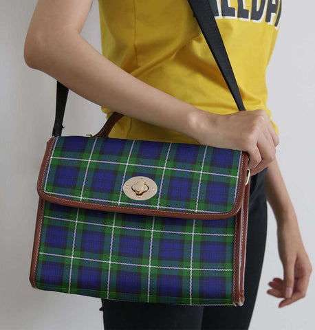 Image of Tartan Bag - Forbes Modern Canvas Handbag A9