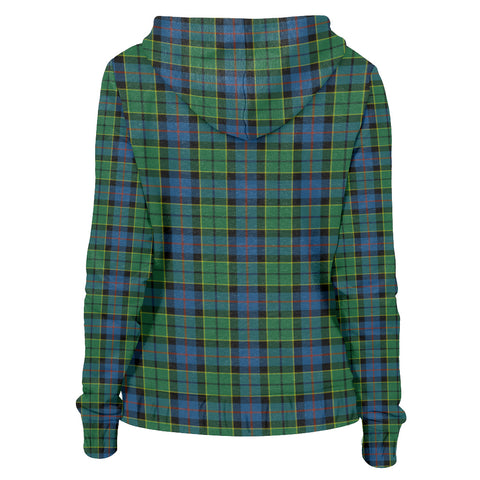 Tartan Zip Hoodie -Forsyth Ancient | Men & Women | Clothing