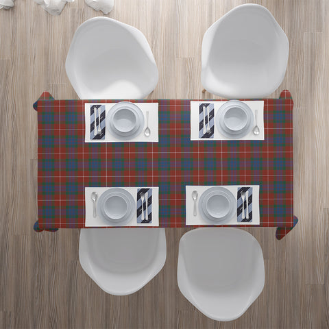 Fraser Ancient Tartan Tablecloth |Home Decor