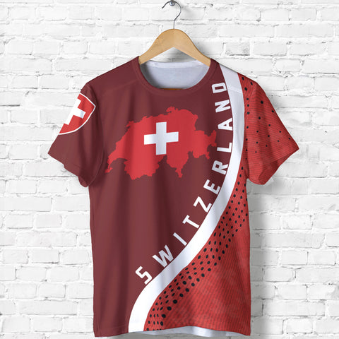 Image of Switzerland Map T-Shirt Generation Ii