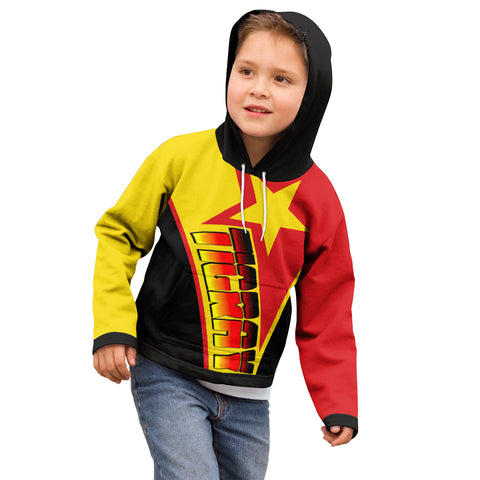 1sttheworld Hoodie Kid - Tigray In My Heart - Tigray Original Flag - BN21