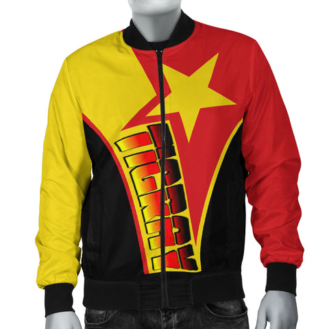 1sttheworld  Women Bomber Jacket - Tigray In My Heart - Tigray Original Flag - BN21
