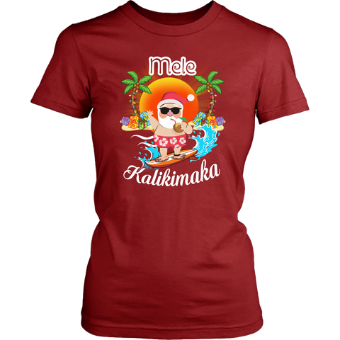Image of Hawaii - Mele Kalikimaka T-shirt H4