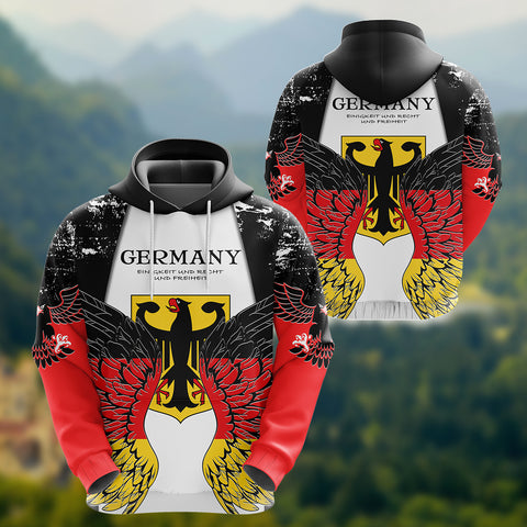 Germany Eagle Wings Hoodie K5