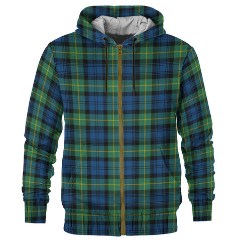 Tartan Zip Hoodie -Gordon Ancient | Men & Women | Clothing