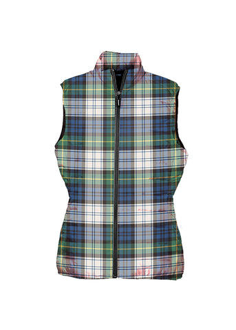 Gordon Dress Ancient Tartan Puffer Vest for Men and Women K5