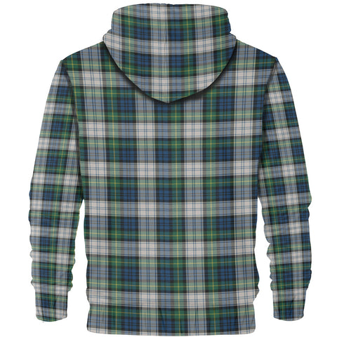 Image of Tartan Zip Hoodie -Gordon Dress Ancient | Men & Women | Clothing