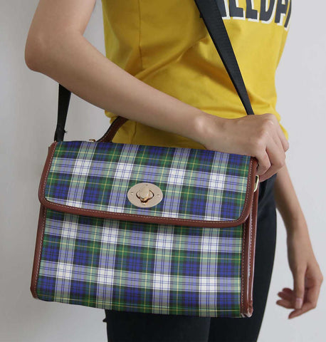 Image of Tartan Bag - Gordon Dress Modern Canvas Handbag A9