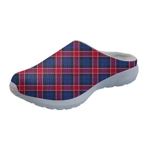 Graham of Menteith Red Tartan Back Open Shoes TH8