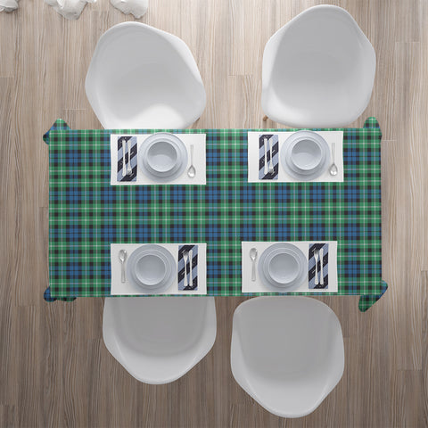 Image of Graham of Montrose Ancient Tartan Tablecloth |Home Decor