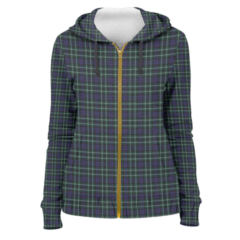 Tartan Zip Hoodie -Graham of Montrose Modern | Men & Women | Clothing