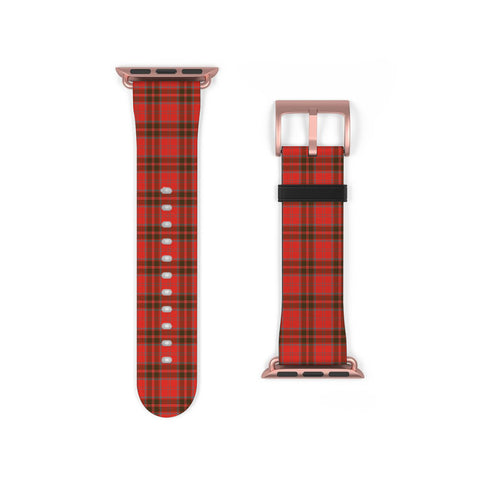 Image of Grant Weathered Scottish Clan Tartan Watch Band Apple Watch