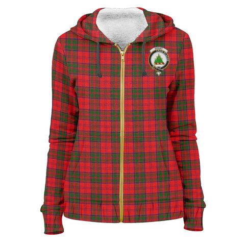 Grant Clan Tartan Zip Hoodie | Men & Women | Clothing