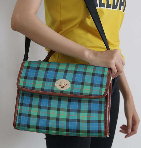 Tartan Bag - Gunn Ancient Canvas Handbag A9