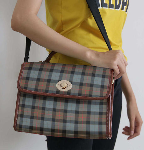 Tartan Bag - Gunn Weathered Canvas Handbag A9