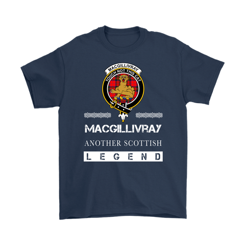 MacGillivray Scottish Legend T-shirt And Hoodie A9