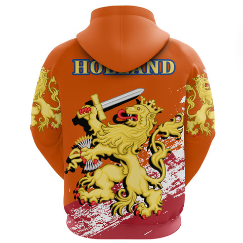 King's Day - Fijne Koningsdag The Netherlands Lion Special Hoodie A7